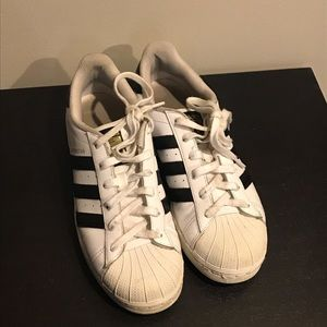Adidas Superstars Size 7 1/2